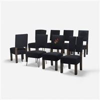 dining chairs (set of 8) by roy mcmakin