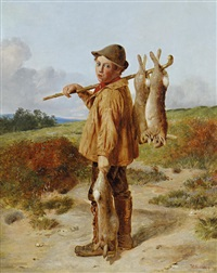 the young poacher by william hemsley