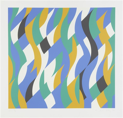 echo by bridget riley