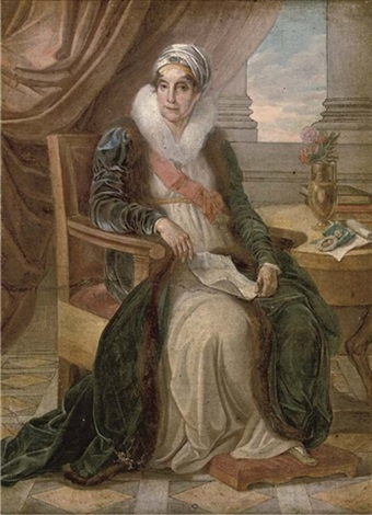 portrait of countess ekaterina p shuvalova by vincenzo camuccini