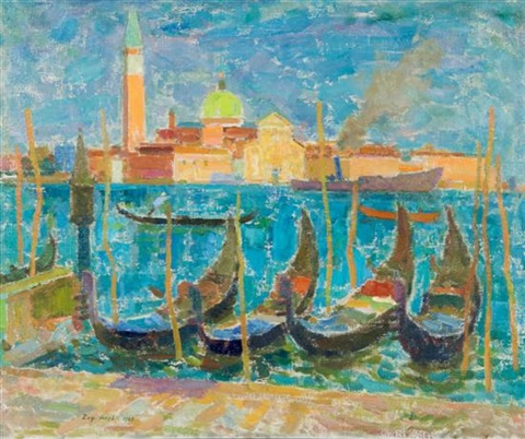 view of san giorgio by eugeniusz arct