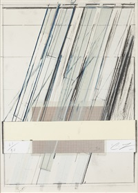 untitled (from hommage a picasso) by cy twombly