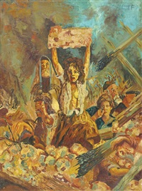 the warsaw ghetto uprising by christof stefanoff