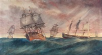 ships at seas by george frederick gregory