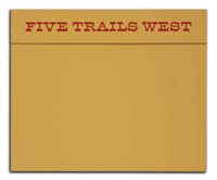 five trails west (portfolio of 5 w/text) by david levinthal