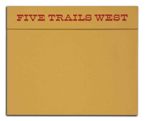 five trails west portfolio of 5 wtext by david levinthal