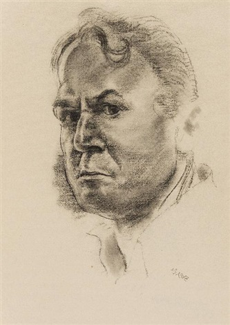 selbstportrait selfportrait by george grosz
