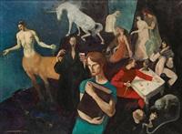 la tentation by jacques van (jaak) melkebeke