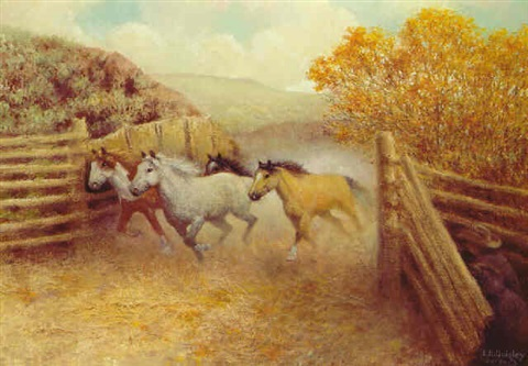 horse capture by edward burns quigley