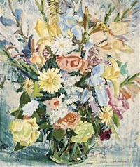summer flowers by maxwell richard christopher ragless