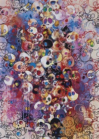 i have left my love far behind by takashi murakami