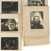 tiefland (26 works) by leni riefenstahl