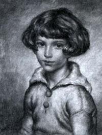 portrait de garçonnet by abel faivre
