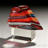art glass sculpture by harvey littleton