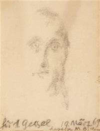 portrait by margret bilger-breustedt