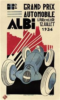 4e. grand prix, albi by f. andrieu