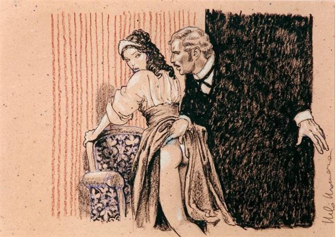 la cameriera by milo manara