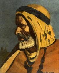 tête d'arabe by nandor vagh-weinmann