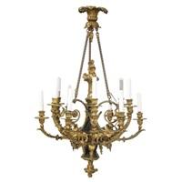 a twelve light chandelier by françois rémond