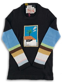 sweater from the artist collection by the ritva man by david hockney
