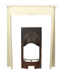 painted fire surround by charles rennie mackintosh and frances macdonald
