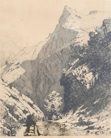 bear creek canyon denver by george elbert burr