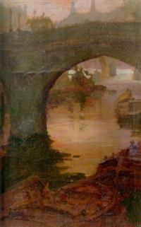 pont neuf, paris by henry salem hubbell