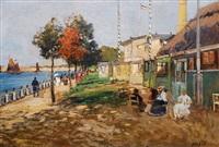 uferpromenade an der ostsee by julius jacob the younger