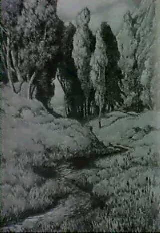 fruhlingslandfschaft mit bachlein by gustav wilhelm lautenschläger