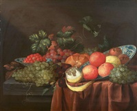 nature morte de fruits by jan pauwel gillemans the elder