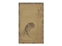 figure of shrimp by katsushika hokusai
