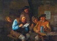 wirtshausszene by egbert van heemskerck