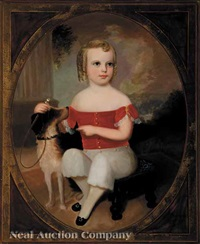 a boy and his pet terrier by robert street