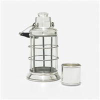 ship's lantern cocktail shaker by adie brothers (co.)