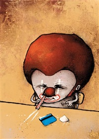 clown insane by dran