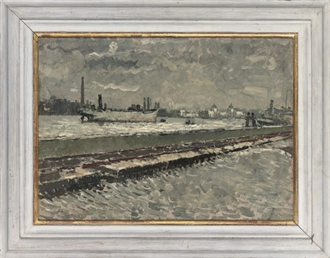 the deptford docks by paul ayshford methuen