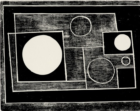five circles by ben nicholson