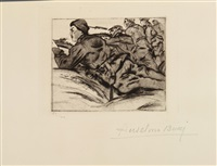 croquis du front italien. (47 works) by anselmo bucci