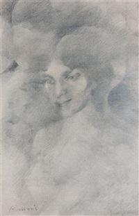 figura femminile by romolo romani