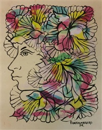 untitled by rené portocarrero