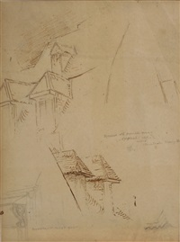 architectural (studies) by stanford white