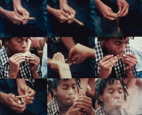 rolling a blunt by larry clark