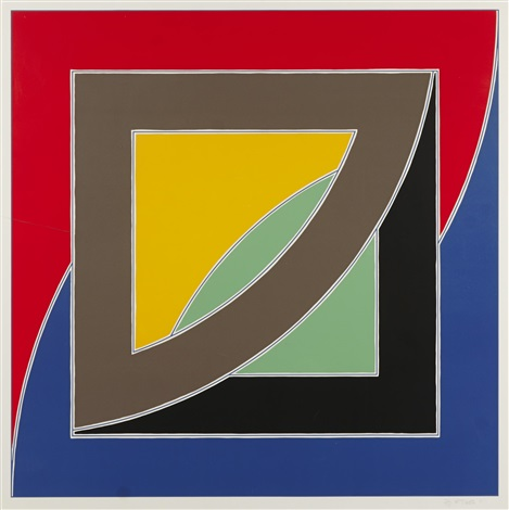 river of ponds iii from newfoundland by frank stella