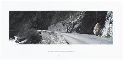 la vallee du bes cairn reserve geologique de haute provence by andy goldsworthy
