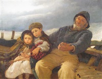 heading home by alfred edward emslie