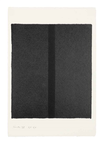 canto iv from 18 cantos by barnett newman
