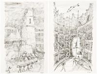 sans titre (+ another, lrgr.; 2 works) by stanislas lepri