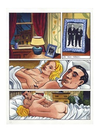 les frères adamov, pl.37 by jacques de loustal