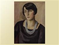 portrait madame rochat by alexandre rochat