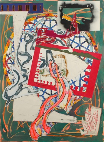 the great heidelburgh tun by frank stella